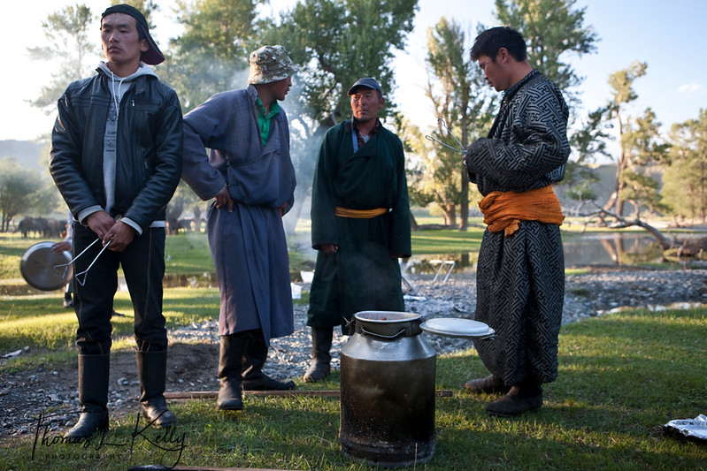 Mongols of Bunkhan Valley
