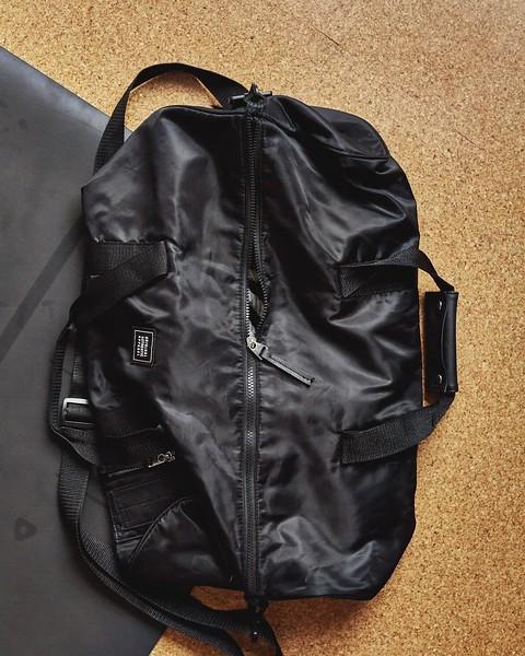 Gym Bag Black Blum