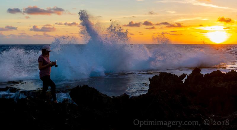 JANUARY 13, 2019: PUNTAN LAGGUA (Parrotfish Point) SUNRISE