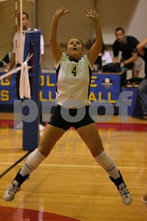 10/05/2004 CW Post @ Dowling Volleyball