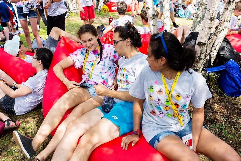 11 au 15 Juillet 2017 - jour 1 Grande activité coopérative