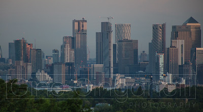 A London skyline (at Sunrise)