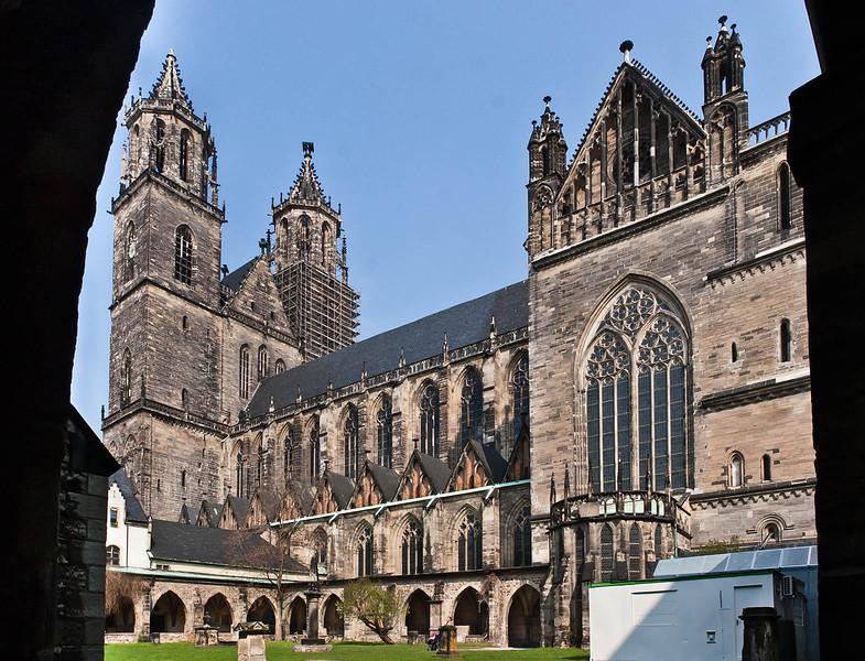 Magdeburg, Dom von Süden