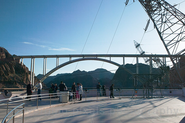 The Mike O'Callaghan – Pat Tillman Memorial Bridge, also known as the Hoover Dam Bypass, was the first concrete-steel composite arch bridge built in the United States, and includes the longest concrete arch in the Western Hemisphere. Hoover Dam