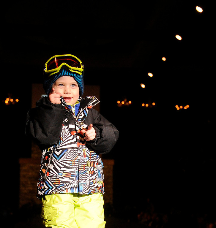 . Snow Dragons and Bolle\' goggles, as the SIA Snow Show hosted its 2013 Snow Fashion & Trends Show at the Colorado Convention Center  in downtown Denver  on Wednesday, January 30, 2013.  (Photo By Cyrus McCrimmon / The Denver Post)
