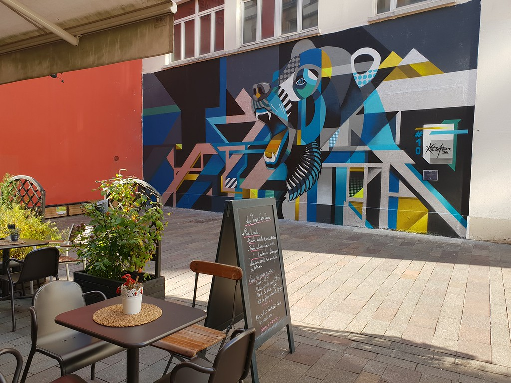 Street art and public art in Mulhouse