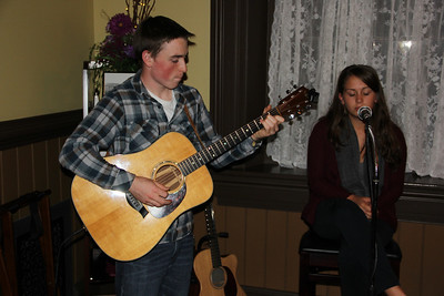 Musical Evening with the Morrisons, Vonz Restaurant, Tamaqua (10-10-2013)