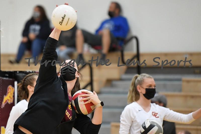 Central Catholic vs. Gresham High School Volleyball 9/15/21