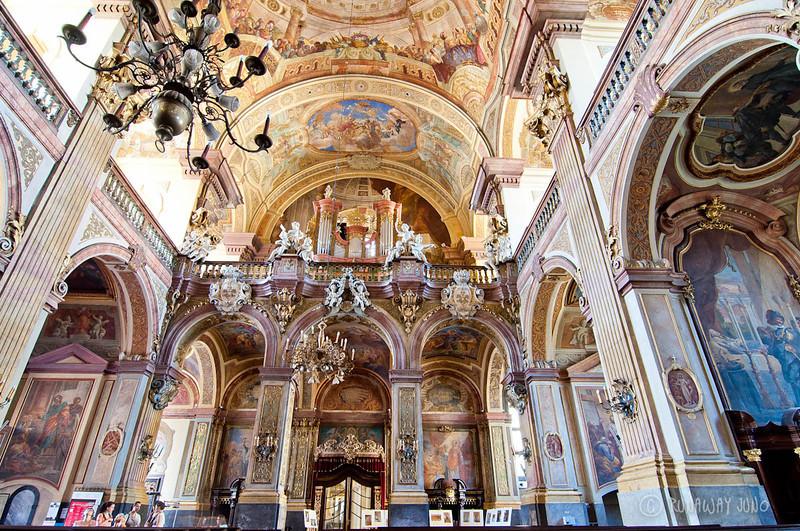 Barque style church