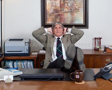 Bob Retirement Portrait