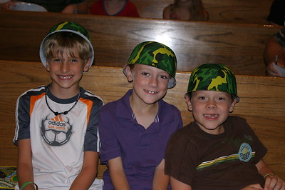 2011 VBS Day 1