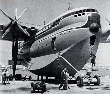 Saunders Roe Princess flying boat.
