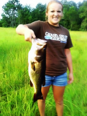 7/22/09 Paige @ BePa's Pond