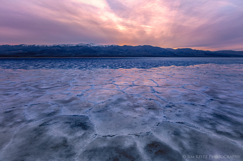 Badwater Basin, Death Valley National Park.