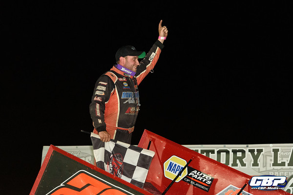 Franek Wins $5,000 in Cole Cup; Maintains Patriot Sprint Point Lead