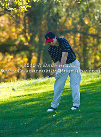 10/8/2010 - Varsity Golf - Walpole vs Needham