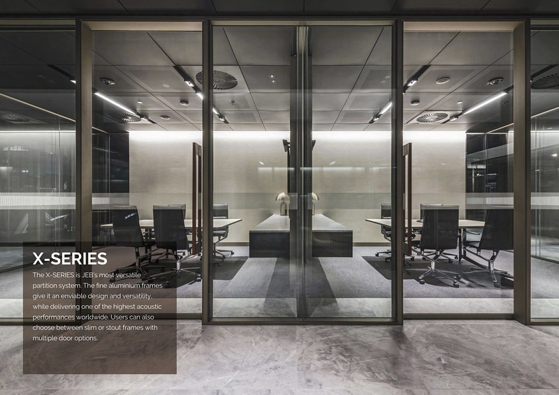Glass Partitions for Office - X Series