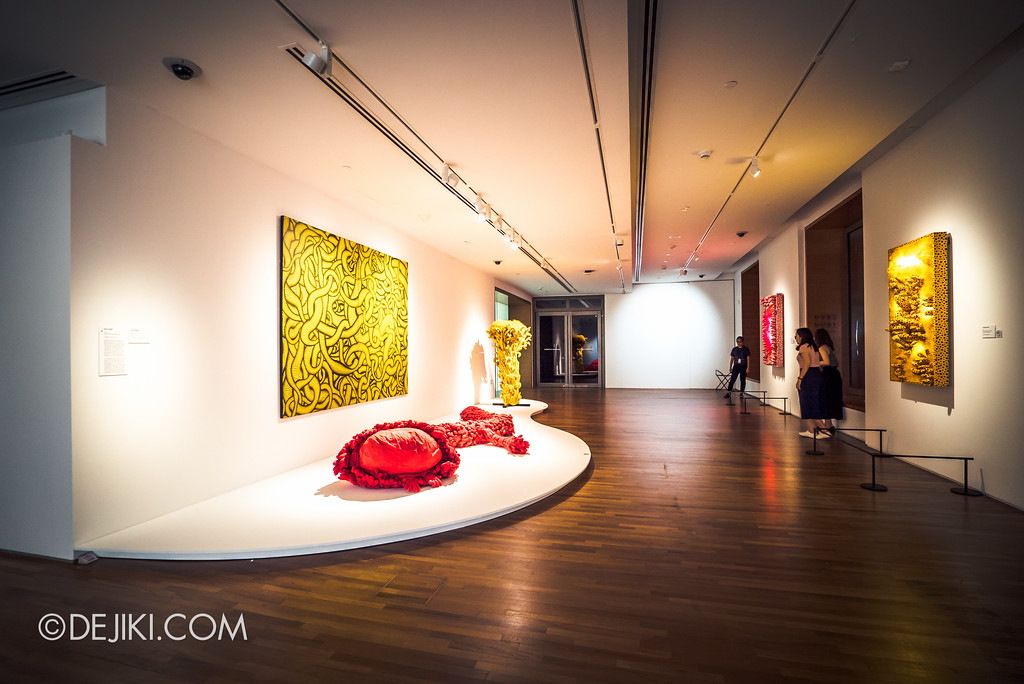 National Gallery Singapore - Yayoi Kusama: Life Is The Heart of A Rainbow / Soft sculptures overview