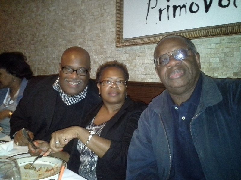 Gregory Roxanne Burrus with Leon Muse at Tonys Restaurant 44 Street NYC.jpg
