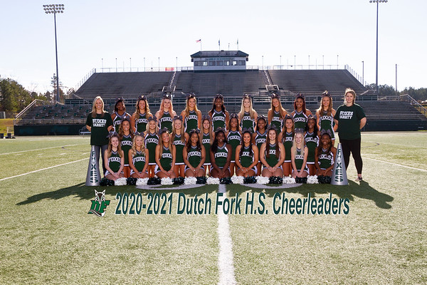 2020-2021 Varsity Cheer
