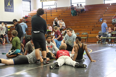 5-21-15  TyShaun Williams Wrestling
