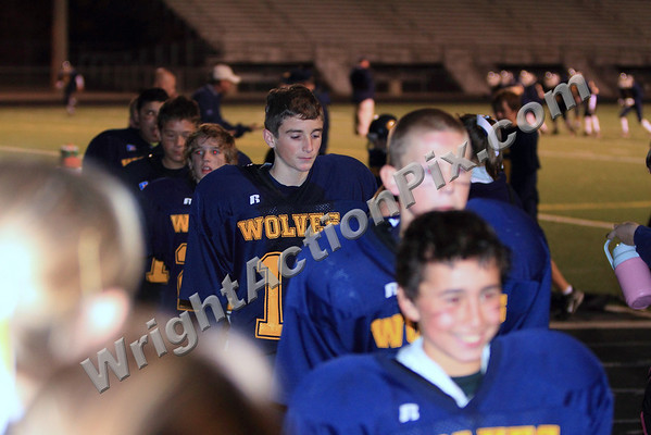 2009 10 27 SMS 7th Grade Football Blue and Gold Game