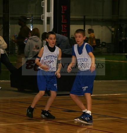 2009 6th Grade Rocket Basketball Team