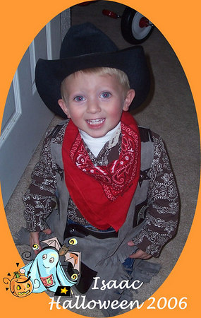 Halloween 2006: Issac & Garrett