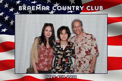7/4/21 - Braemer Country CLub July 4th