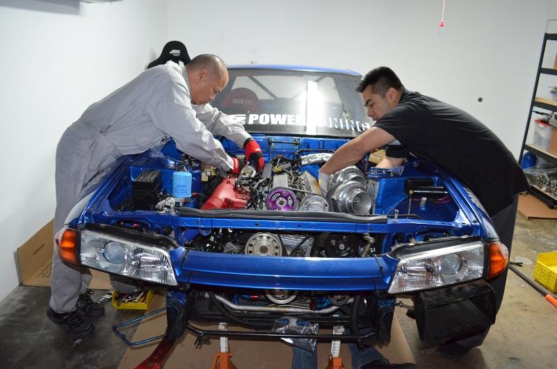 ark bnr32 engine removal