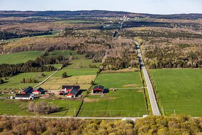 6.2 Saint Séverin Route Turmel et Ferme Nadeau