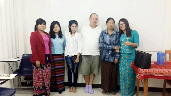 2016 Myanmar Law Teachers in Chiang Mai