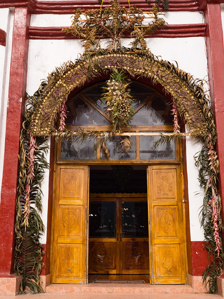 Huixtan Church Door