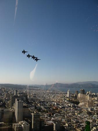 San Francisco and Blue Angels