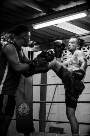 An Evening At A Muay Thai Gym, Bangkok (2018)