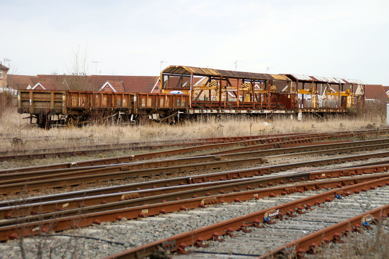 March Sidings from L-R ZBAs 972358 972356 YMAs 996895 996636 10/03/12