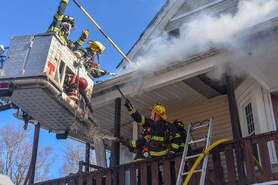 3 Alarm Structure Fire - 106 Greenwood St, Gardner, MA - 1/22/19
