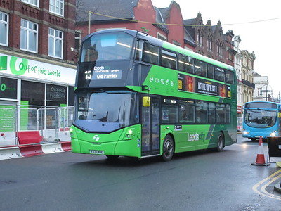 Leeds buses Feb 2021