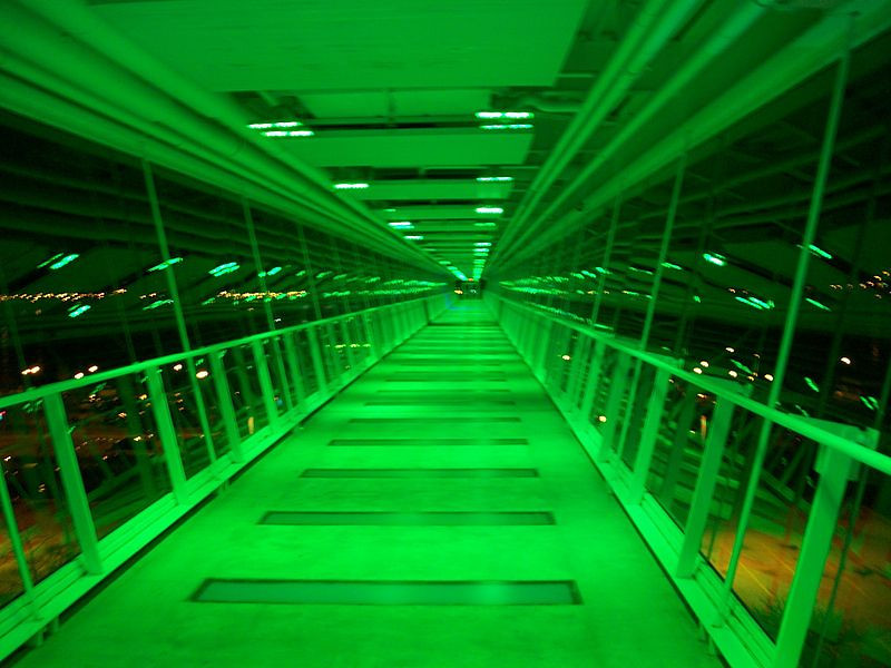 The Davenport Skybridge is a pedestrian cable-stayed bridge