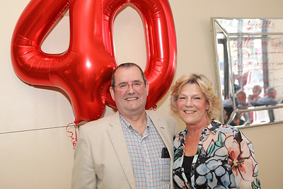 Jo & Nick's 40th Anniversary celebrations
