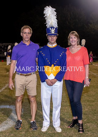 Broughton varsity football vs Cardinal Gibbons. Band and Dance Team Senior Night. October 25, 2019. MRC_3747