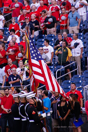 Nationals vs Brewers 8/21/15