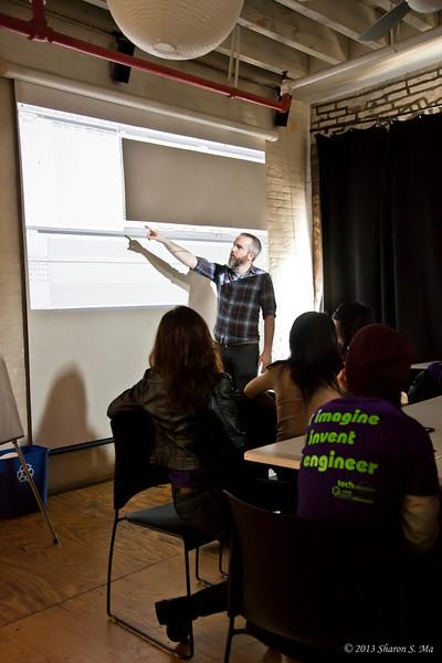 Technovation: Workshop at Reel Works