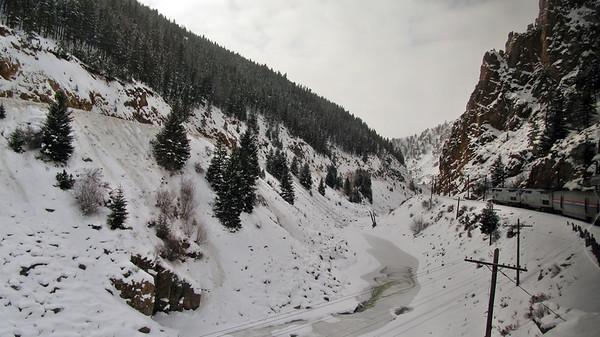 Amtrak's California Zephyr - Colorado to Utah
