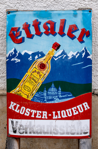 The famous Ettaler liqueur comes in four flavors