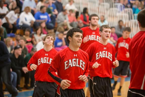 2013 ERHS Varsity Boys at Robert E Lee