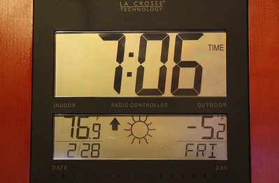 Minus Five Degrees at 7 AM, Dutch Hill, Tamaqua (2-28-2014)
