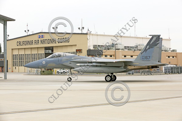 California ANG 144th Fighter Wing Military Airplane Pictures