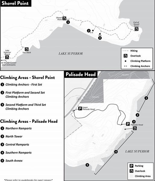 Tettegouche State Park (Climbing Areas)