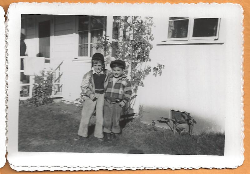 Ellis Mirsky and Friend, ca. 1950
